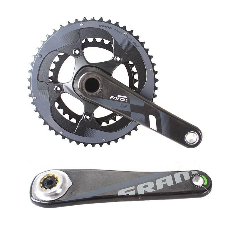 SRAM FORCE 2x11S 50x34T 53x39T 170mm 172.5mm Road Bike Crankset Bicycle Chain Wheel Carbon Leg GXP & BB30