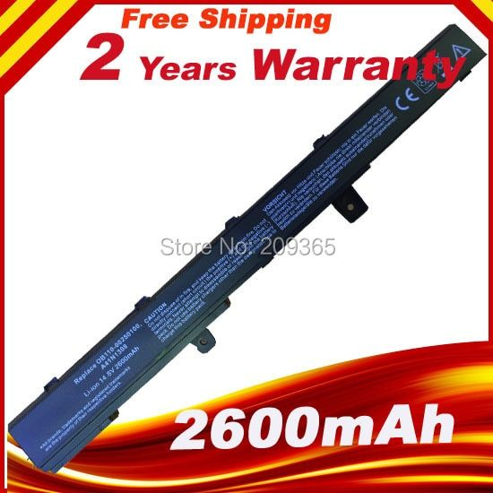 Batterie d'ordinateur portable pour ASUS X551M X451C X451CA X551C X551CA A41N1308 A31N1319 0B110-00250100M