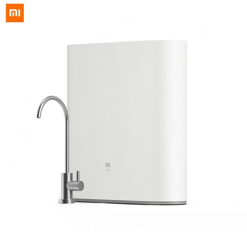 Original Xiaomi Mi Water Purifier 1A with Faucet Support WiFi Connect Smart Mi Home APP RO Reverse Osmosis Filter for Household