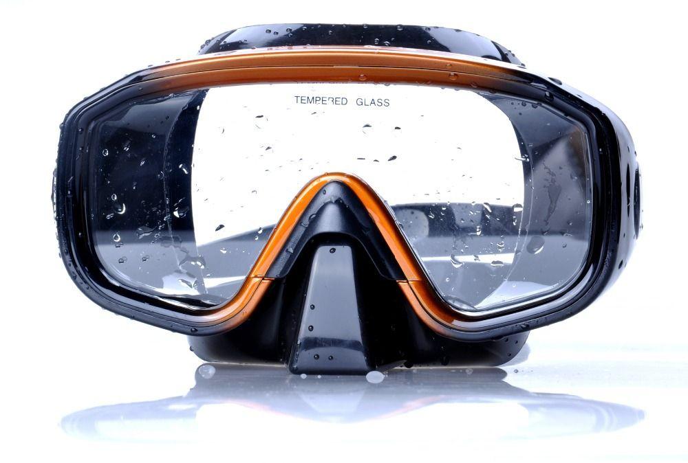 Professionelle Silikon Tauchen Maske Schnorchel Set Gebrauch für Schwimmen Tauchen Schnorcheln Freies Verschiffen YM138 + YS03