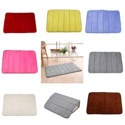 Baño de espuma de memoria baño absorbente alfombra suave alfombra esteras antideslizantes baño coral suave alfombras de baño herramienta