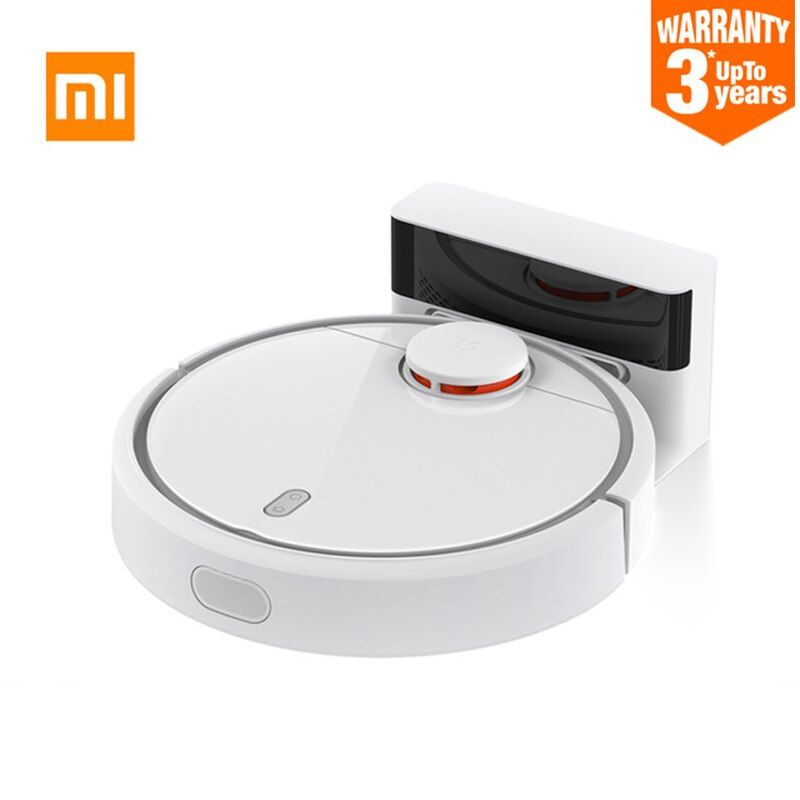 2018 New Original XIAOMI MI Robot Vacuum Cleaner for Home Filter Dust Sterilize Roller brush Smart Planned Phone Remote Control