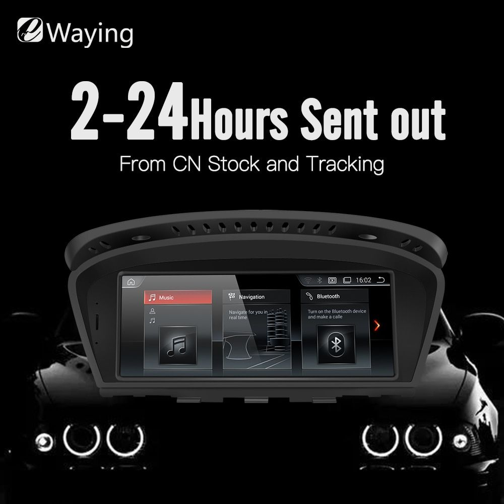 Ewaying 8,8 Android 7.1 2g RAM 32g ROM für CIC Auto Multimedia für BMW Series5 3 E90 E91 e92 E60 E61 E62 gps navigation