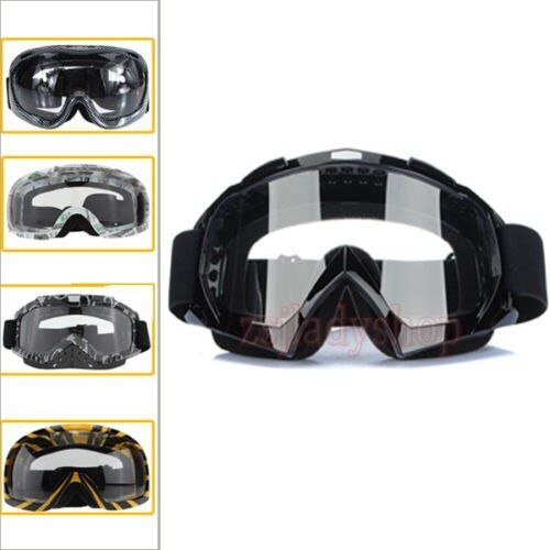Motocross Scooter Dirt Bike Quad ATV UV Protection Snowboard Off-road SKI Racing Helmet Goggles Glasse Kid Adult