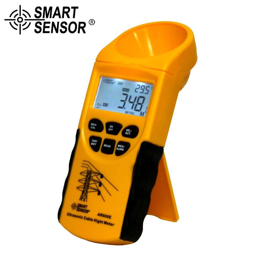 Smart sensor Digital Ultrasonic Cable Height Meter Measuring Range(Height 3-23m ,Plane 3-15m) ultrasonic flow sensor flow sensor