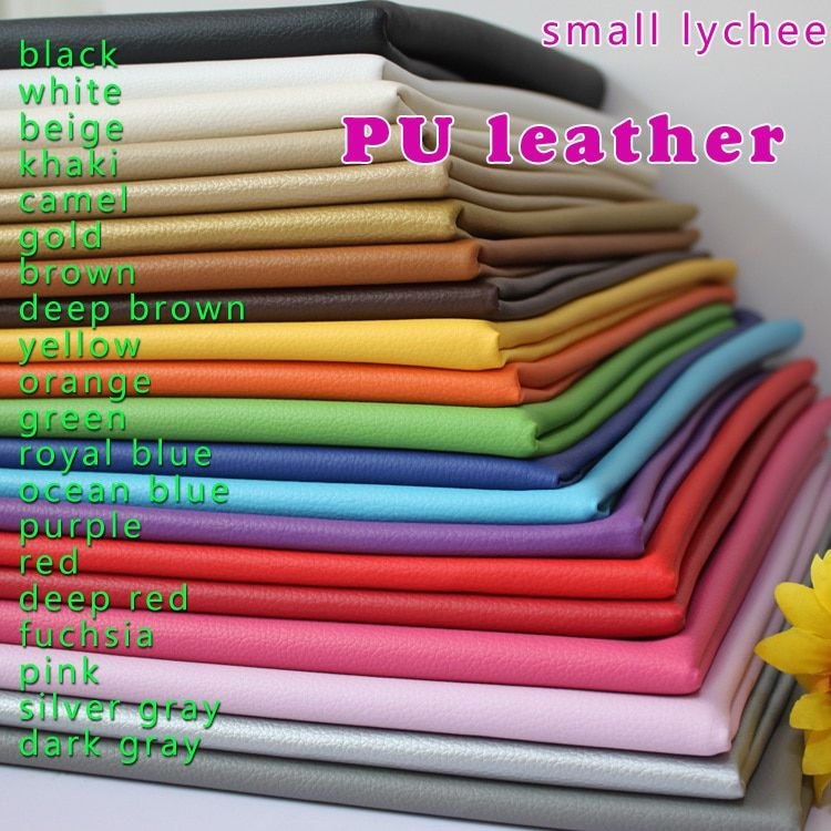 Small Lychee PU Leather Faux Leather Fabric Sewing Artificial leather Upholstery Car interior 54