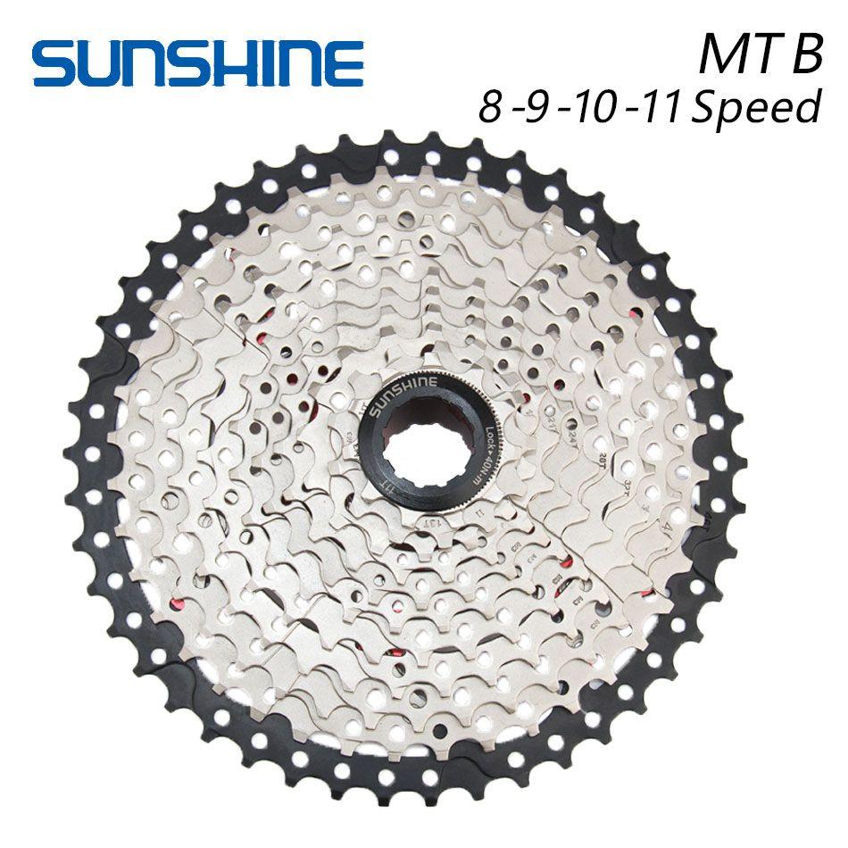 SUNSHINE 8S 9S 10S 11S 32T 36T 40T 42T 46T 50T pignons de volant de vélo rapport large vtt VTT pièces de composant de vélo