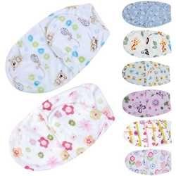 Belle Bébé Swaddle Wrap Souple Enveloppe Nouveau-Né Bébé Couvertures À Emmailloter Infantile Sac de Couchage Chaud Bébé Literie Couverture Pour 0-6 M