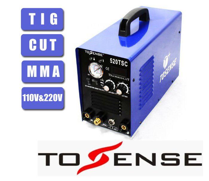 TSC520 Multifunktions Schweißen Maschine TIG SCHNITT MMA 110 v 220 v Freies Verschiffen 3 in 1 Schweißer Inverter
