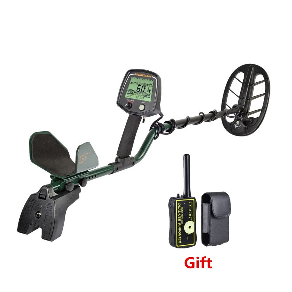 Free shipping 2017 Best Gold metal detector precious treasure finder for underground gold detector GF2 same as T2