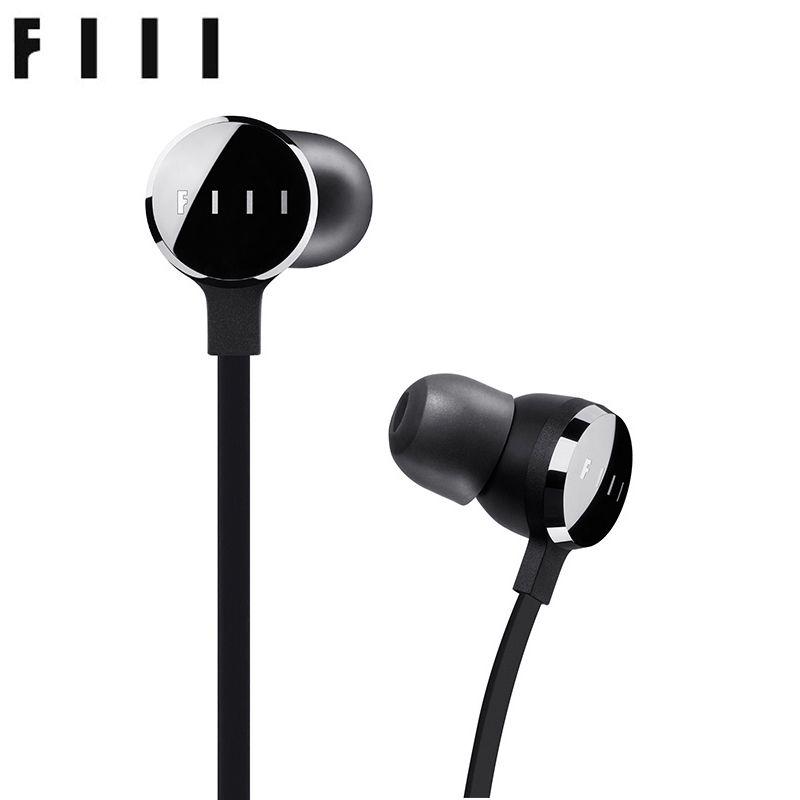 FIIL Bestie In-ohr Musik Kopfhörer mit Mic Draht-steuerung HiFi Kopfhörer Knowles Balanced armature-3 & Hybrid Technologie Ohrhörer
