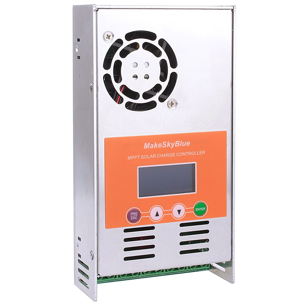 MPPT Solar Charge Controller 15A 20A 30A 40A 45A 50A 60A MakeSkyBlue for 12V 24V 36V 48V 72V 96V Not PWM Charger Regulator