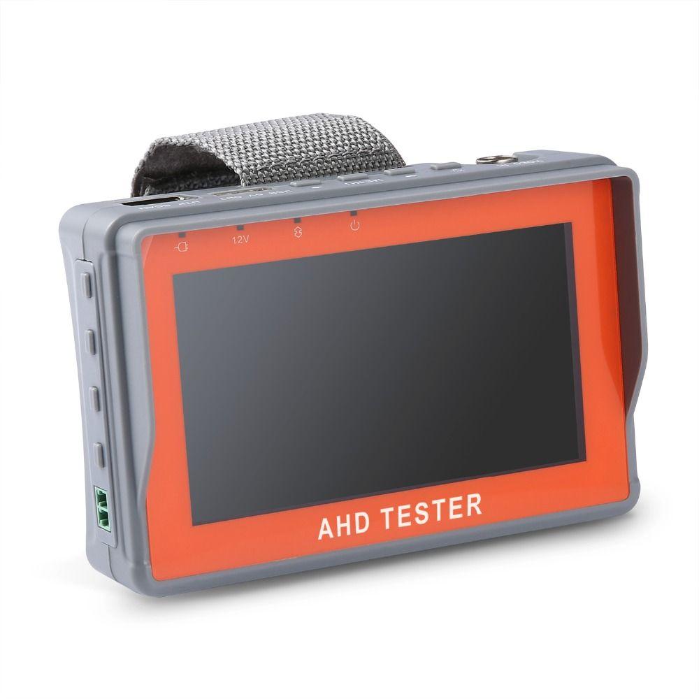 ANNKE 4.3 Pouce HD AHD CCTV Testeur Moniteur AHD 1080 P Analogique Caméra PTZ UTP Câble Testeur 12V1A Sortie