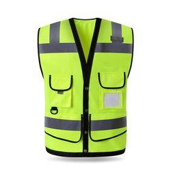 Alta calidad de alta visibilidad chaleco reflectante ropa de trabajo motocicleta ciclismo deportes al aire libre ropa reflectante de seguridad #102