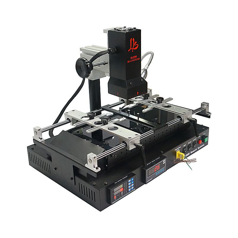Infrared Bga rework station LY IR8500 v.2 soldering for Motherboard Chip PCB Refurbished Repair with brush Tweezer stencil ball
