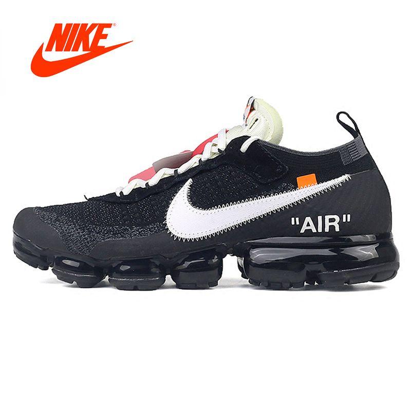 Официальный Оригинальный акции ограничено Nike X Off-White Air vapormax OFW Для Мужчин's Кроссовки открытый классический спортивный Обувь