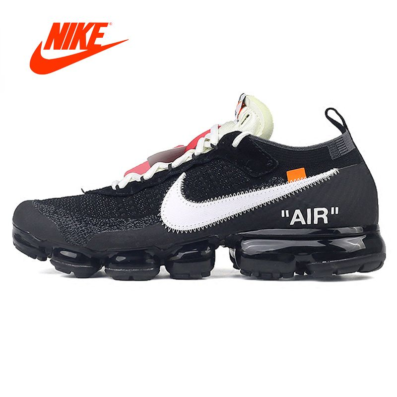 Official Original Stock Limited Nike X OFF-WHITE AIR VAPORMAX OFW Men's Running Shoes Outdoor Classic Sports Shoes