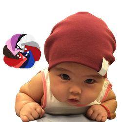 Baru Lahir Musim Dingin Baru Unisex Bayi Laki-laki Anak Perempuan Balita Bayi Warna-warni Katun Lembut Topi Lucu Topi Beanie
