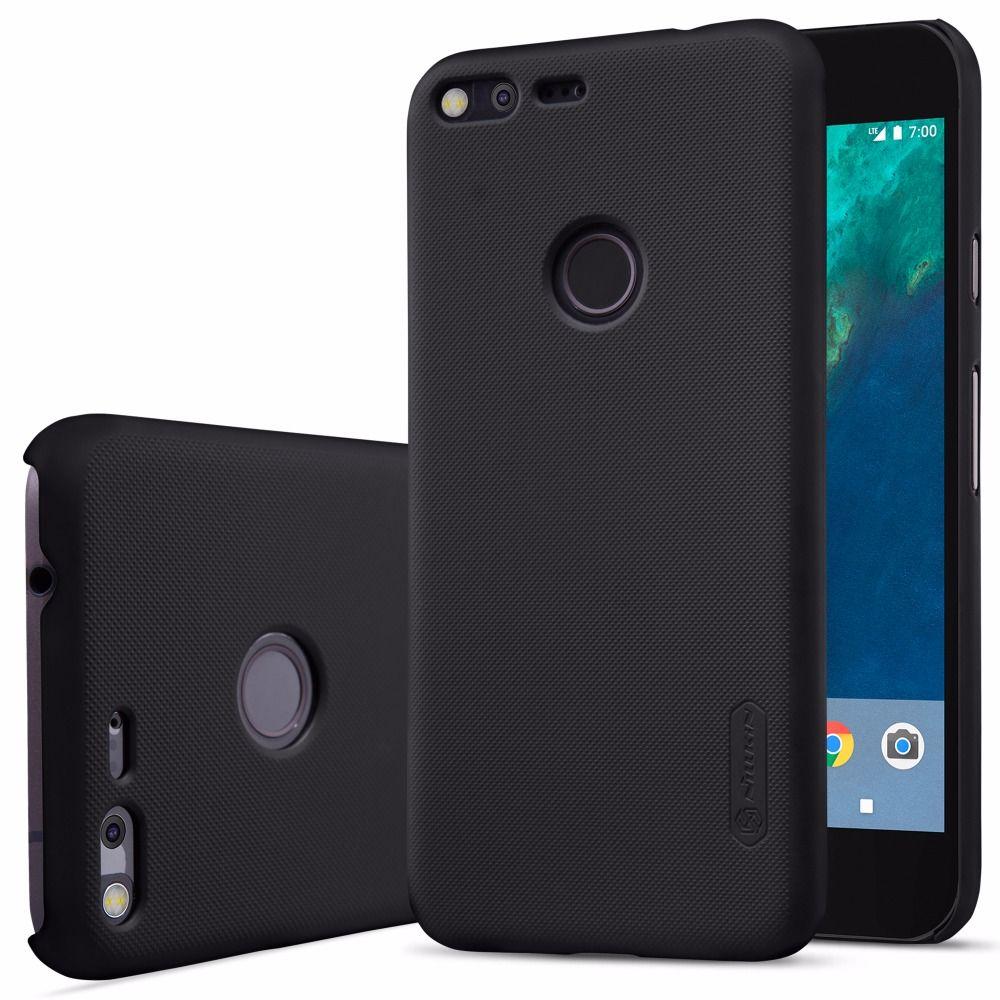 Coque pour HTC Google Pixel/Pixel XL housse de protection NILLKIN Super givré coque arrière rigide mate