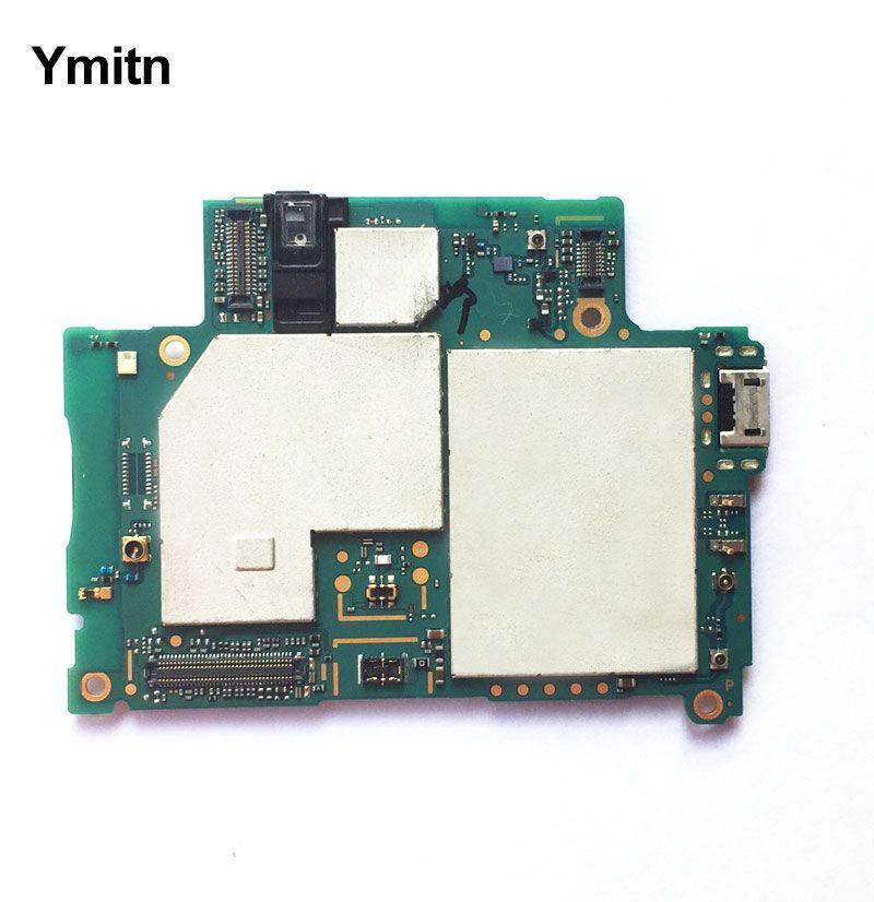 Ymitn Logement Mobile Électronique panneau carte mère Carte Mère Circuits Câble Pour Sony Xperia Z2 D6503 Z2A D6553