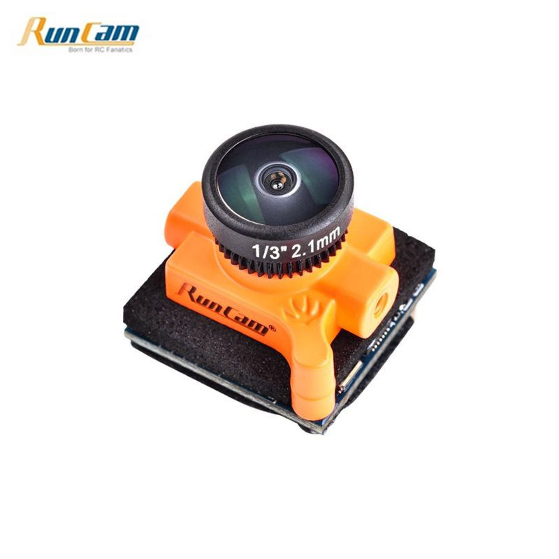 Runcam Micro Swift 3 4:3 600TVL CCD Mini FPV Camera 2.1mm/2.3mm M8 Lens PAL/NTSC OSD Configuration For RC Models Drone Part