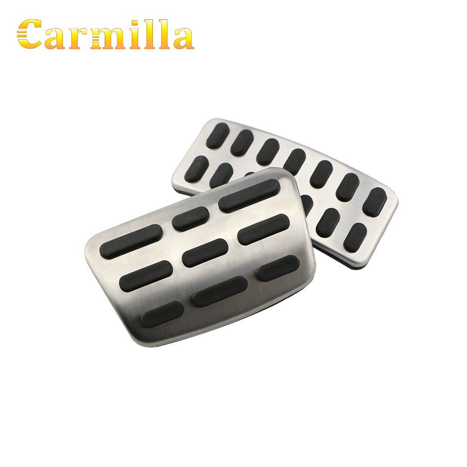 Stainless Steel Car Accelerator Gas Brake Pedal Clutch Pedals Case for Hyundai Verna Solaris Sedan Hatchback 2012 - 2015