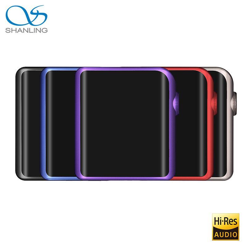 SHANLING M0 ES9218P 32bit /384kHz Bluetooth AptX LDAC DSD MP3 FALC Portable Music Player Hi-Res Audio With Apt-X SHANLING M5S