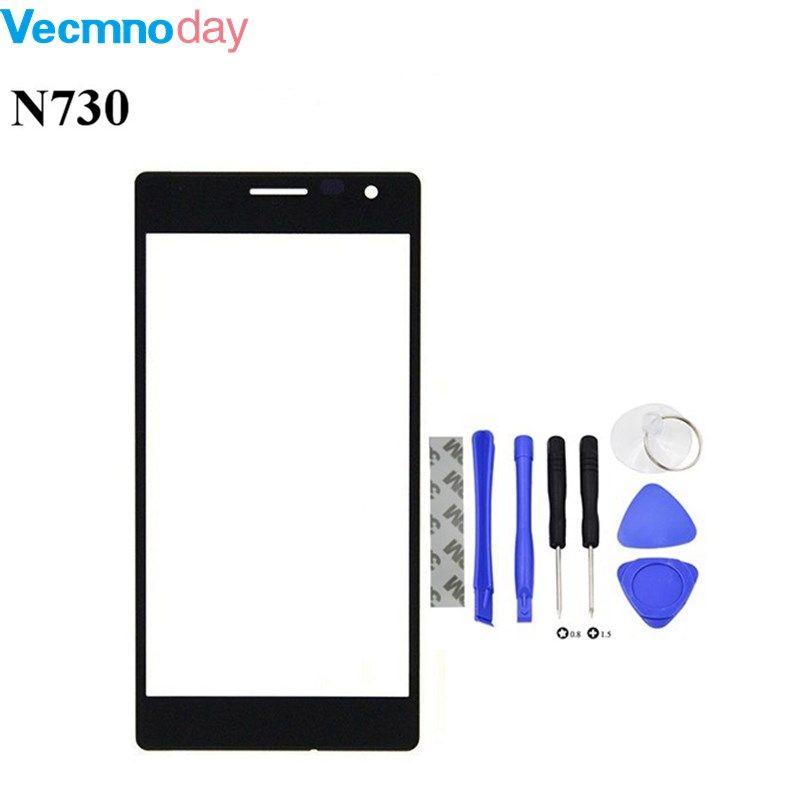Vecmnoday 4.7 ''Pour Nokia Lumia 730 735 Remplacement LCD Avant Écran tactile Extra-Atmosphérique Lentille En Verre + Outils Ensemble + Livraison gratuite
