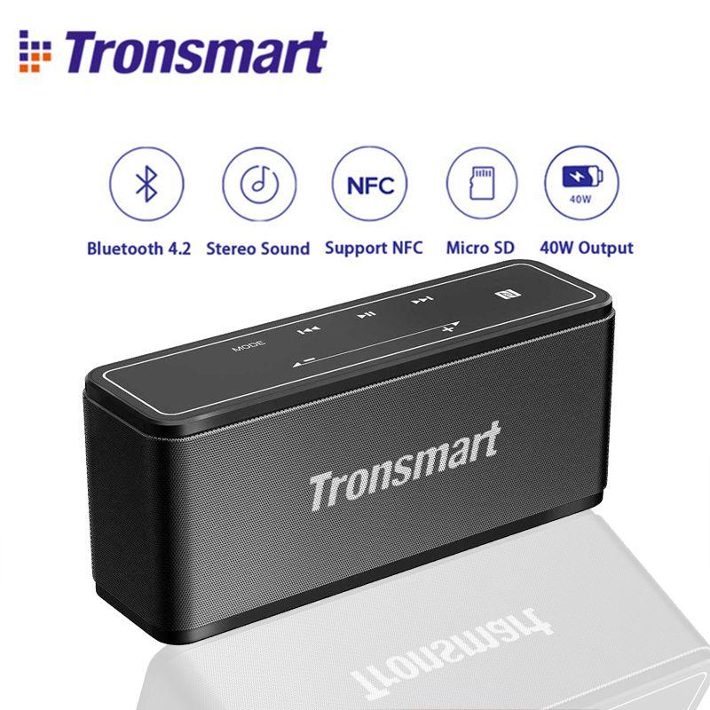 Original Tronsmart Element Mega Mini Bluetooth Speaker 40W DSP 3D Digital Sound outdoor Portable Wireless Speaker for Xiaomi