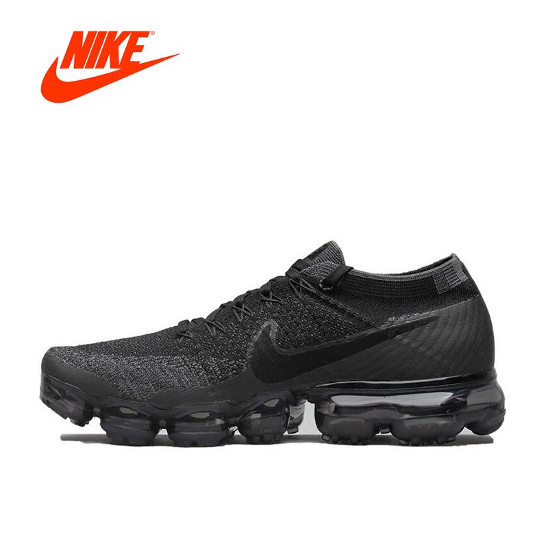 New Arrival Original Authentic Nike Air VaporMax Flyknit Breathable Men's Running Shoes Sports Sneakers Classic Shoes Outdoor