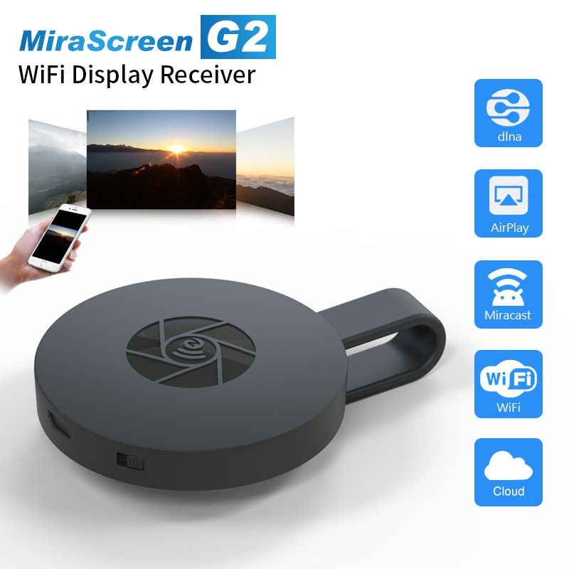 2019 Date ~ TV stick MiraScreen G2/L7 TV récepteur de Dongle Soutien HDMI Miracast Écran HDTV Dongle TV stick