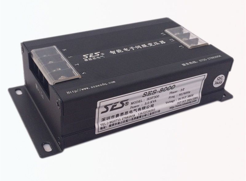 3kw 3kva Servo motor driver electronic transformer input 3phase 380V output 200V for CNC router