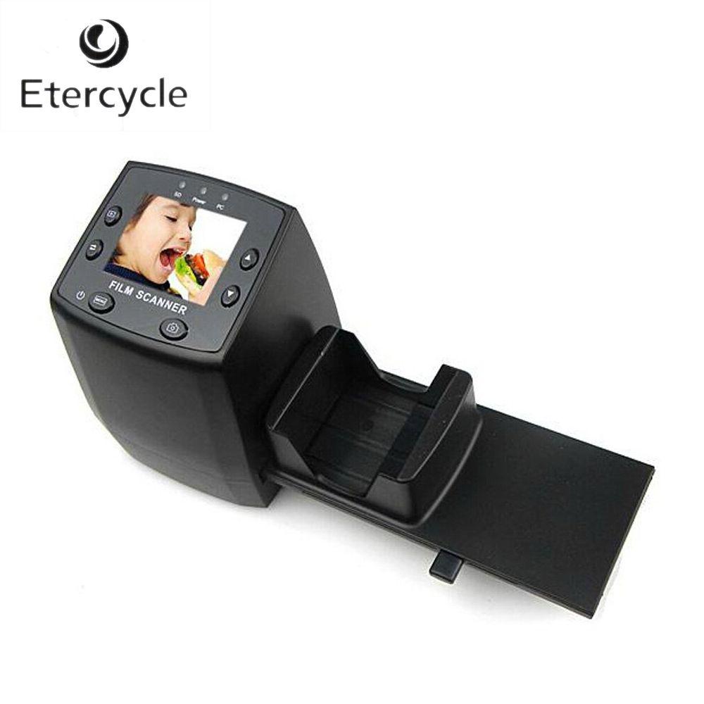 35mm Film Slide Scanner 5.0/10 Mega Pixels Portable Digital Photo Scanner Negatives Converter with 2.4inch LCD