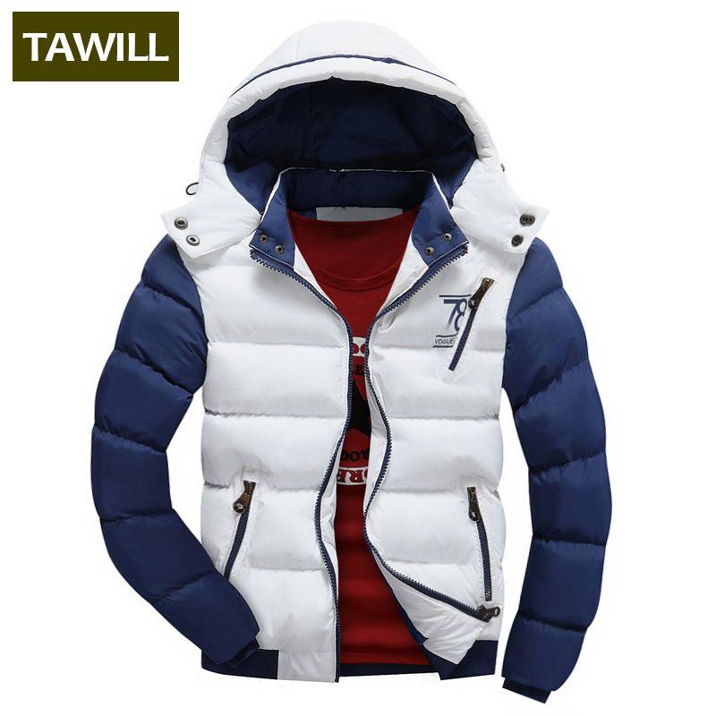 TAWILL Fashion Men Jackets Coats Autumn Casual Winter Jacket Men 2017 New Brand Clothing Asian size 78