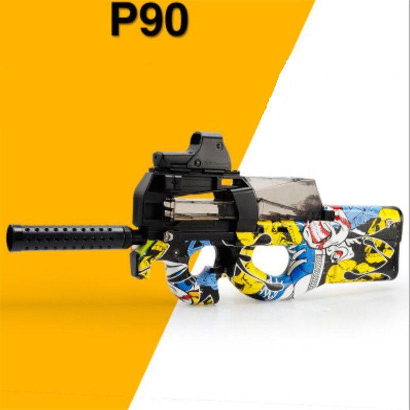 P90 live cs electric toy gun rifle soft bullet sniper rifle pistol water paintball gun outdoor paintball elite airsoft air guns