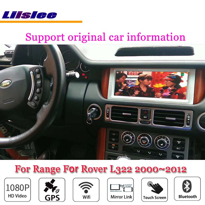 Liislee Car Android Multimedia For Range For Rover L322 2000~2012 Radio Video Stereo Wifi GPS Map Navi Navigation System No DVD