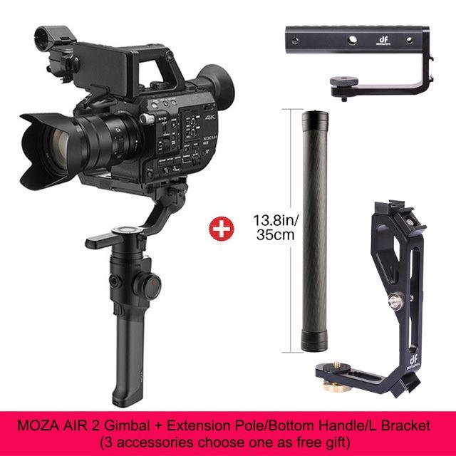 DIGITALFOTO Moza Air 2 Maxload 4,2 KG DSLR Kamera Stabilisator 3 Achse Handheld Gimbal für Canon Nikon PK DJI Ronin S Zhiyun Kran 2