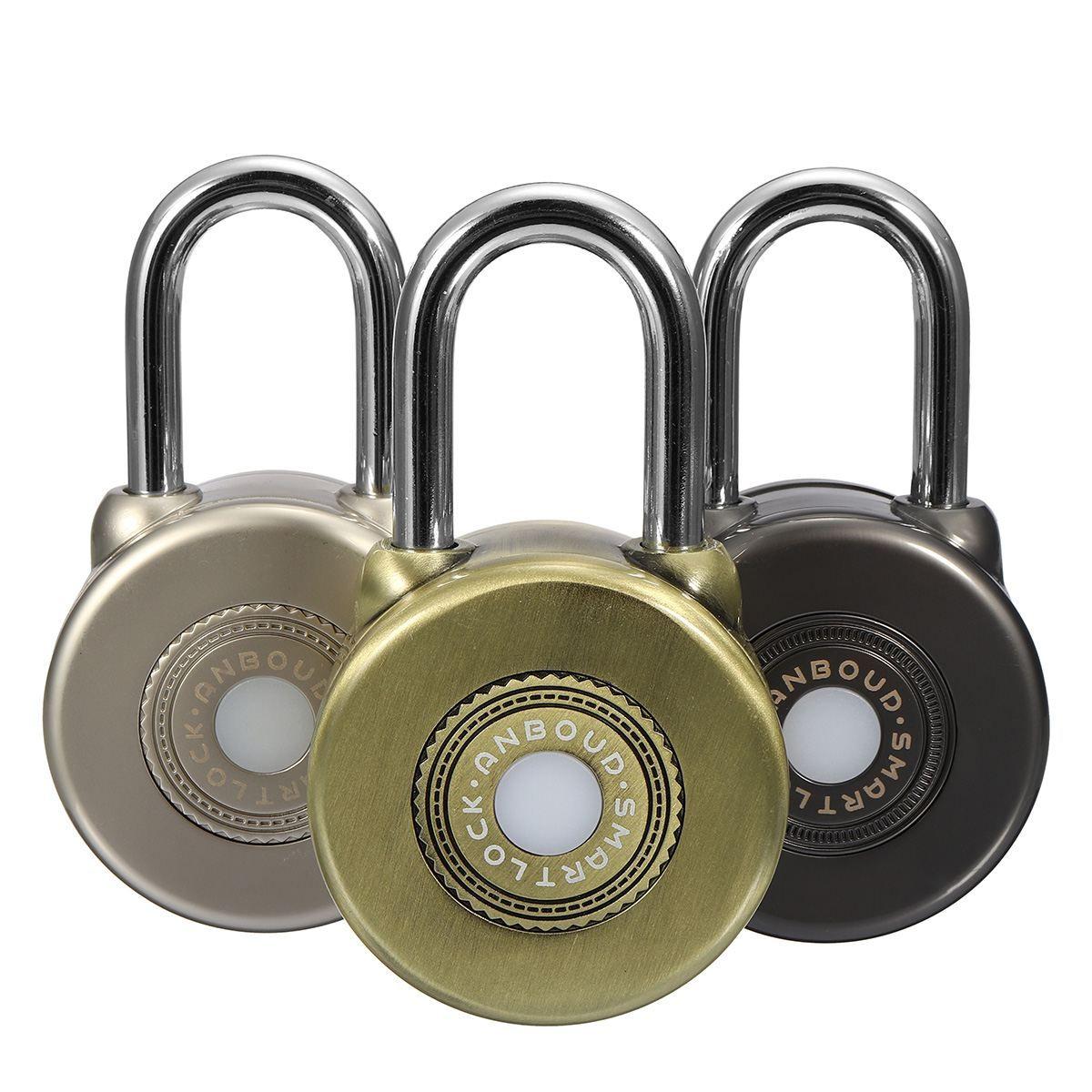 Safurance Drahtlose Wasserdichte Bluetooth Smart Lock APP Control Security Anti-diebstahl-vorhängeschloss Home Security Sicherheits