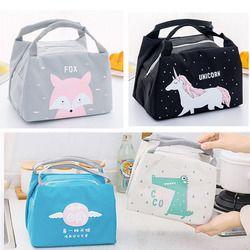 New Baby Food Milk Bottle Storage Insulation Bags Waterproof Oxford Flamingo Bag Lunch Bag Infant Kids Food Warmer Thermal Bag