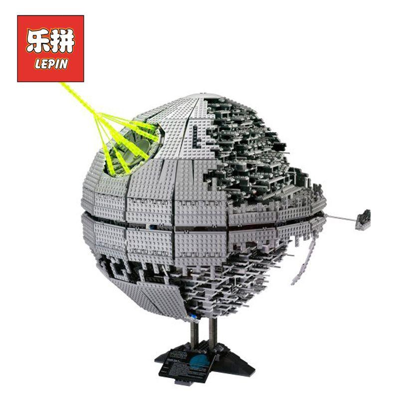 Lepin 05026 Building Blocks Bricks Stars Series War Death Star Set Model 10143 Children Toy Christmas Birthday Christmas Gift