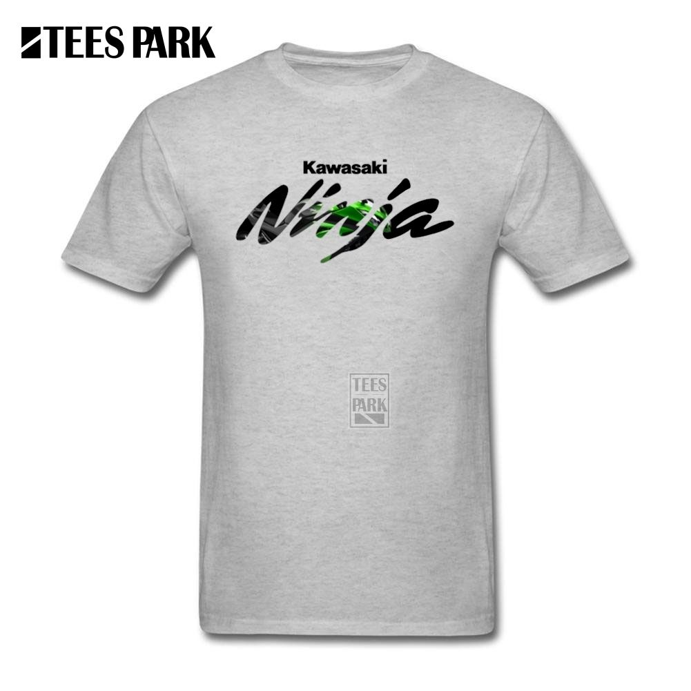 Fashion Geek Tee Kawasaki  Ninja Teenage Crewneck Tee Shirt Leisure Homme Design Shirts