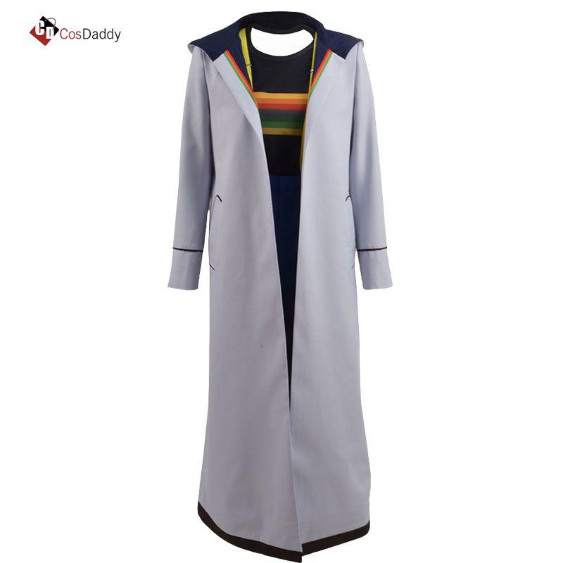 Doctor Who 13 Cosplay Kostüm Jodie Whittaker Mantel outwear beliebte film tv Graben hose T-shirt 13th CosDaddy
