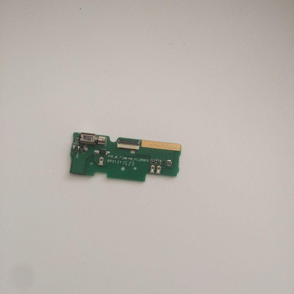 Utilisé USB Carte de Charge de la + Moteur de Vibration De Réparation Remplacement Accessoires Pour Elephone P7000 Livraison Gratuite