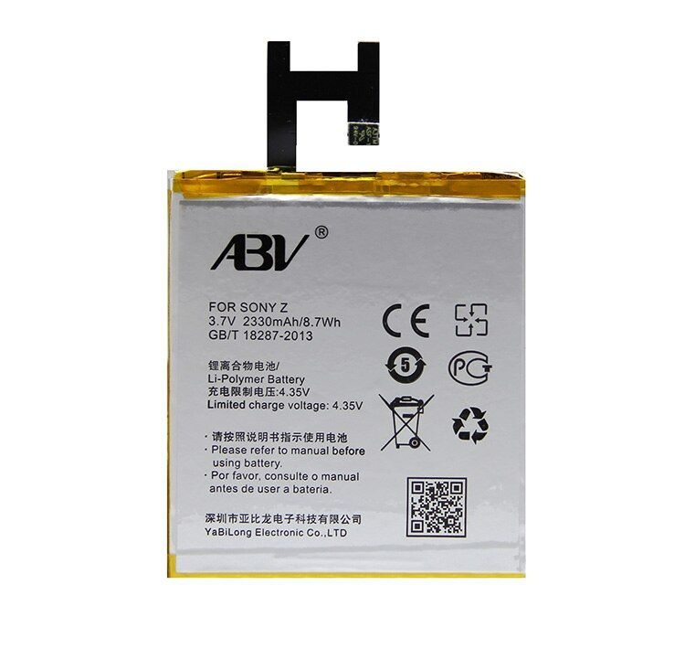 Original ABV Replacement Battery LIS1502ERPC battery For Sony Xperia Z L36h L36i c6602 SO-02E C6603 S39H Phone Battery