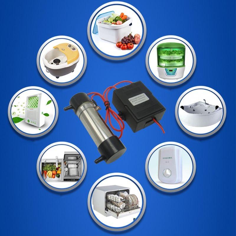 MEXI AC220V 500mg Ozon Generator Rohr Für DIY Wasser Behandlung Luftreiniger Kühlschrank Dish Washer Hausgeräte Zubehör