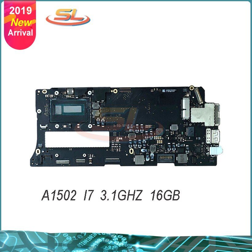 Echte Neue Motherboard für A1502 3,1 GHz Core i7 (I7-5557U) MF843 16GB Logic Board 2015 Jahr 820-4924-A