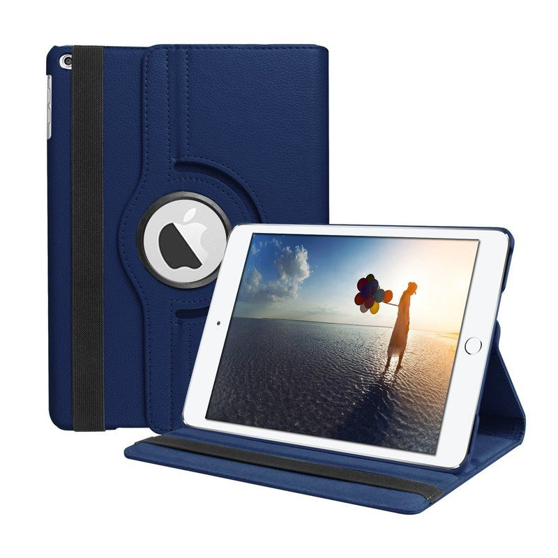 360 Degree Rotating PU Leather Flip Cover Case For New iPad 9.7 2017 2018 5th 6th Stand Cases Smart Case A1822 A1823 A1893 A1954