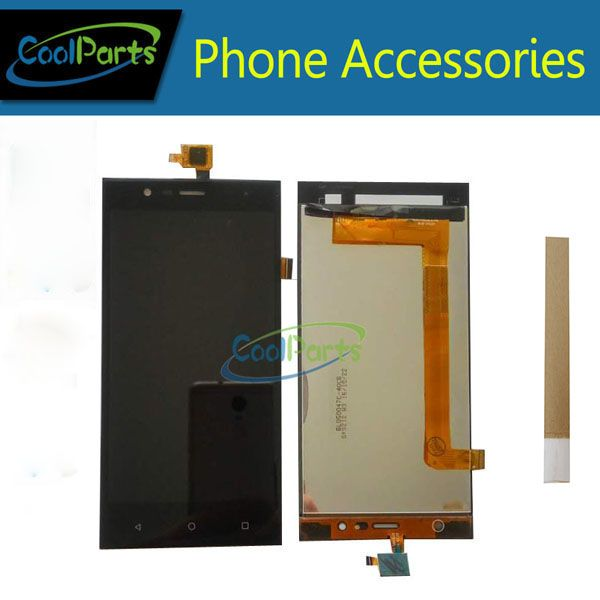 1PC/Lot For Highscreen <font><b>Boost</b></font> 3 Pro <font><b>Boost</b></font> 3 SE <font><b>Boost</b></font> 3 SE Pro <font><b>Boost</b></font> 3 LCD Display +Touch Screen Digitizer Black Color With Tape