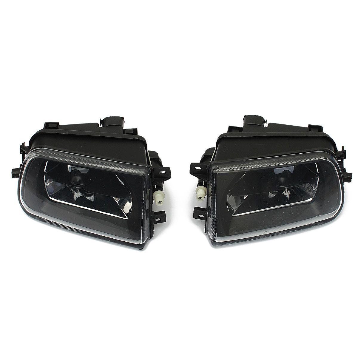 1 пара Противотуманные фары автомобиля Корпус вождения пятно света черный Корпус для BMW E39 5 серии Z3 1997-2000