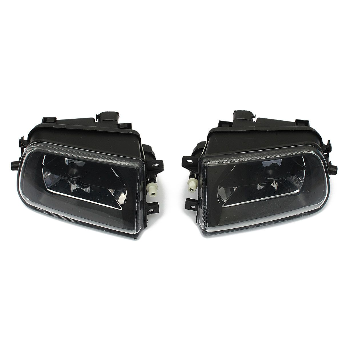 1 Pair Car Fog Lights Housing  Driving Spot Light  Black Housing For BMW E39 5 SERIES Z3 1997-2000